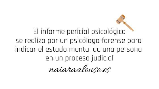 informe psicologo