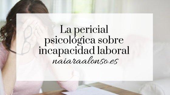 incapacidad laboral